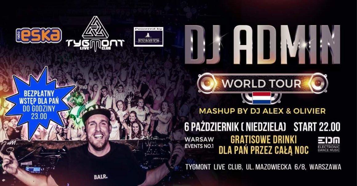 DJ Admin World Tour