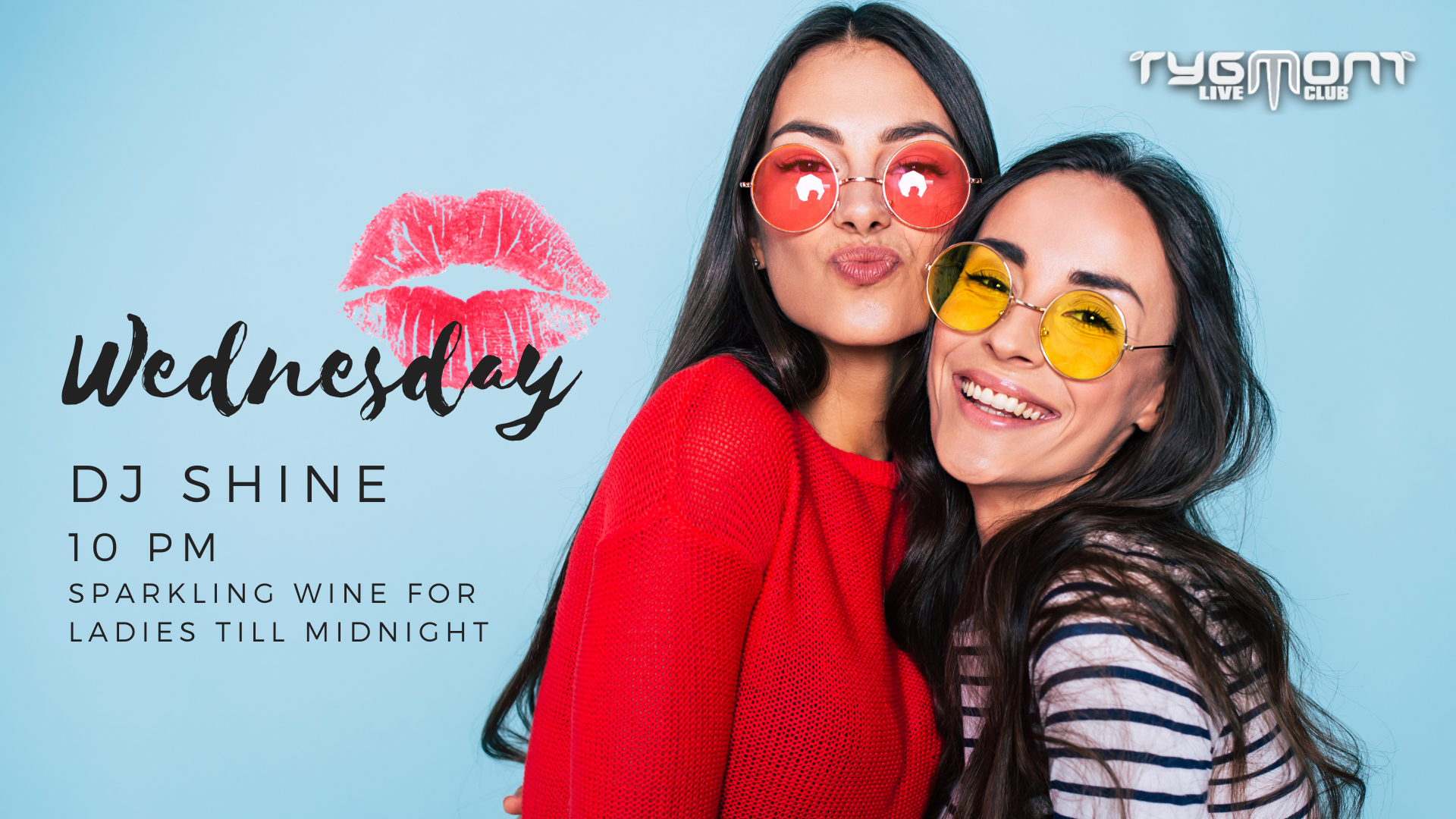 Lips Sealed Surprise Party Facebook Event Cover